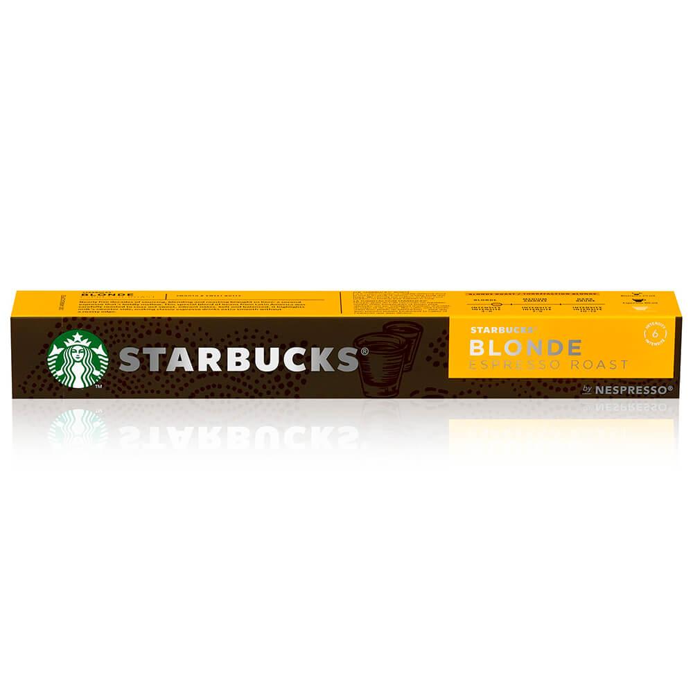 Кофе Starbucks 10 капсул Blonde Nespresso