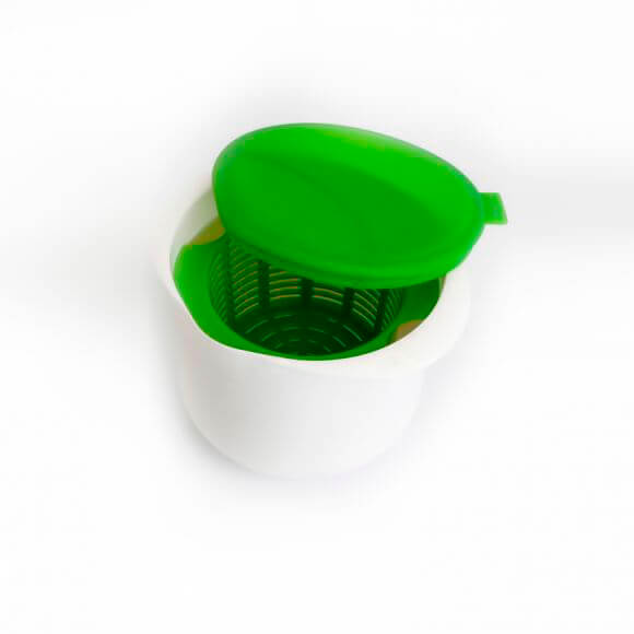 Аппарат для приготовления домашнего творога и сыра Bradex нежное лакомство зеленый tk 0192