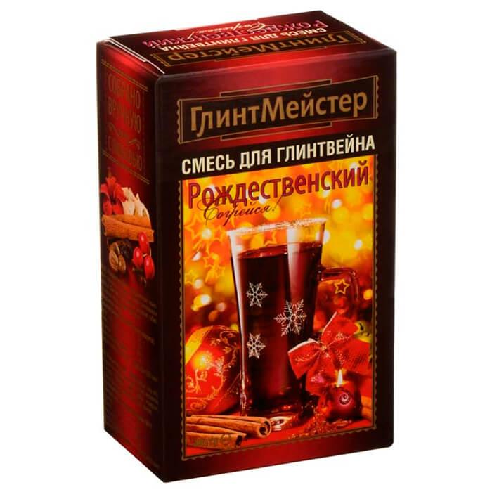 Смесь ГлинтМейстер 44г для глинтвейна Рождественский