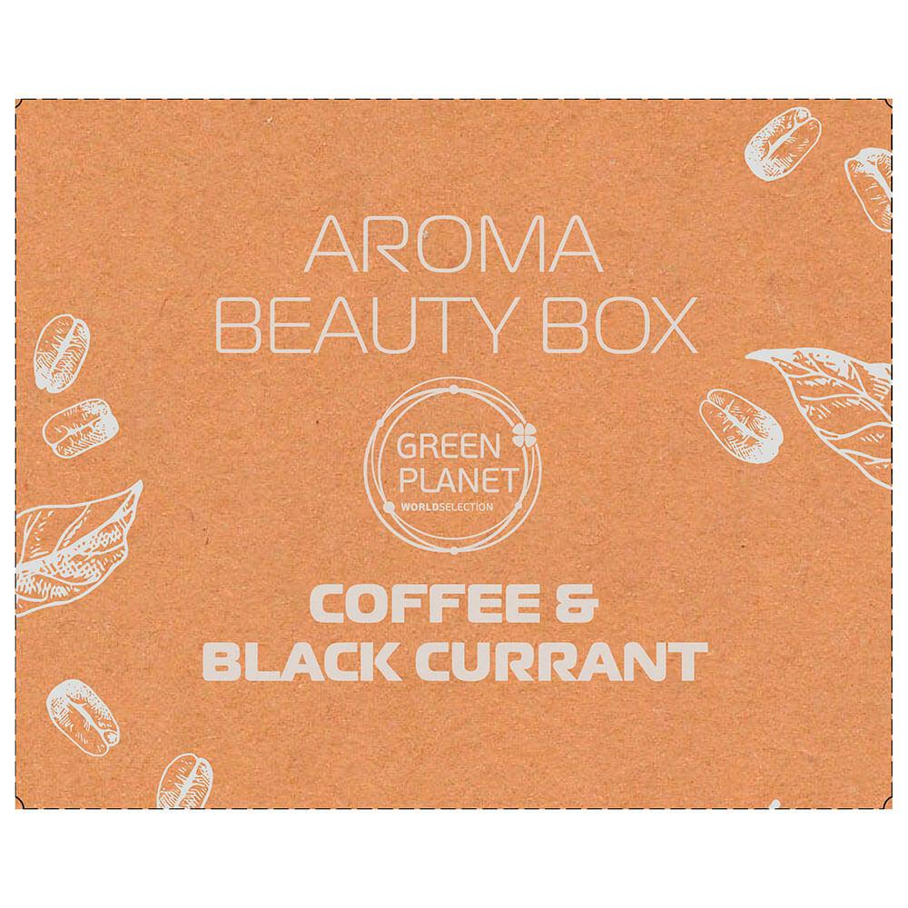 Фото - Набор подарочный Aroma Beauty Box Coffee и черная смородина гель-скраб для душа+крем для рук 90мл green planet скраб для душа с маслом зеленого кофе 250 мл