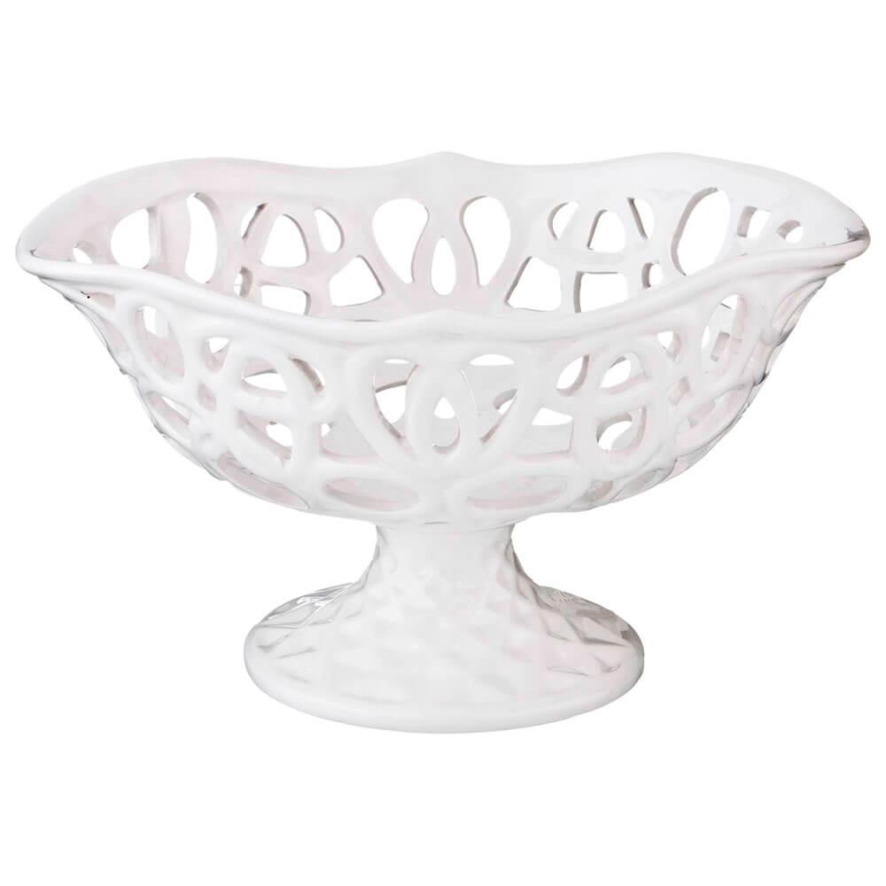 Конфетница 23,5*18*13см Lefard серия вуаль керамика dh4030