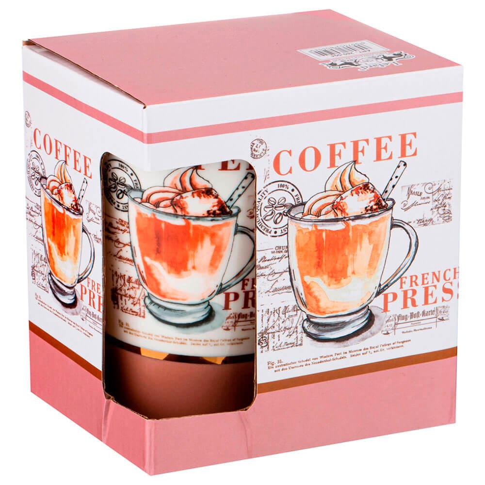 Кружка 520мл Lefard кофе фарфор 260-504