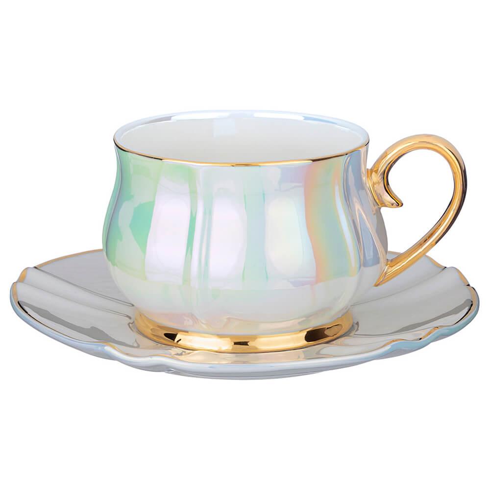 Чайная пара 200мл Lefard перламутровая 275-1175