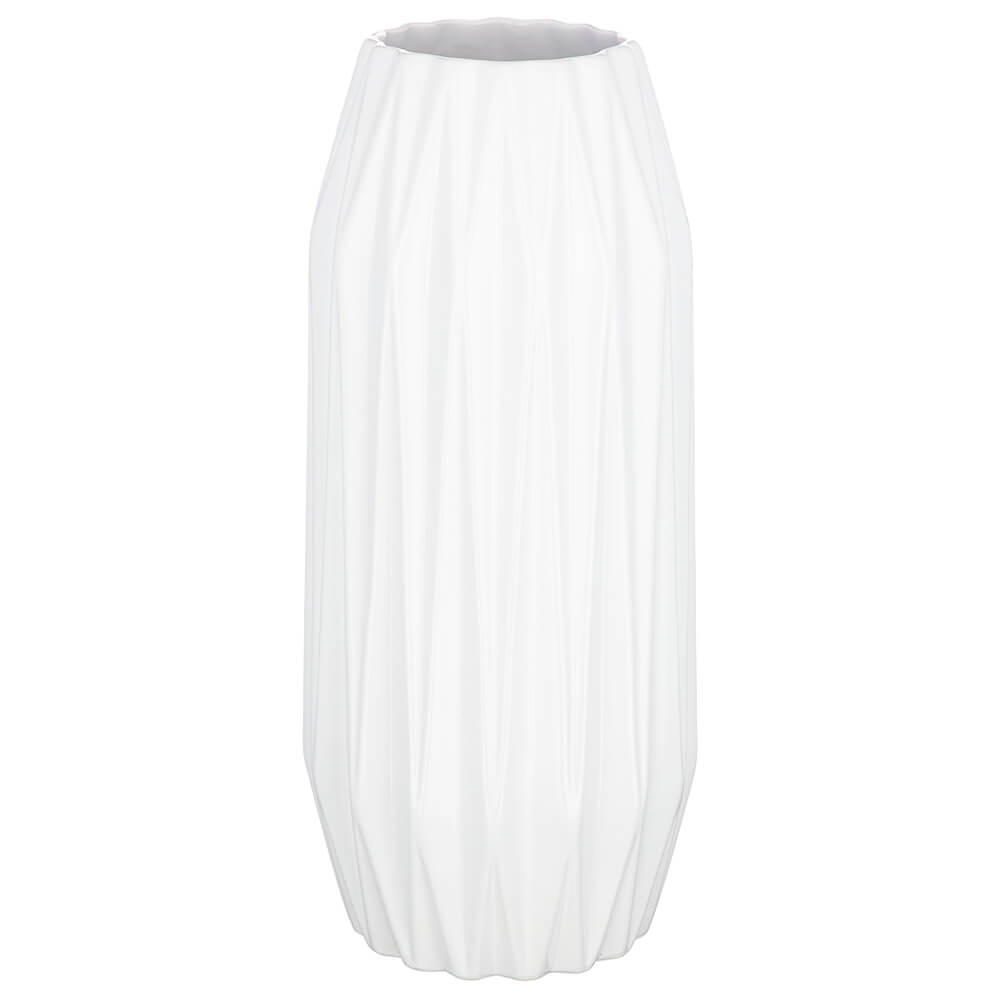 Ваза 15,3*36см Lefard белая глазурь 110-1021 недорого