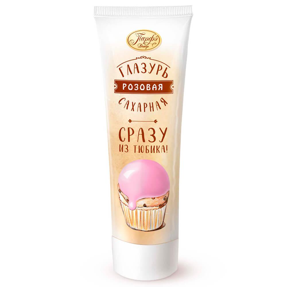 Фото - Помадка сахарная Парфэ 120г розовая туба сахарная глазурь парфэ белая 120 г