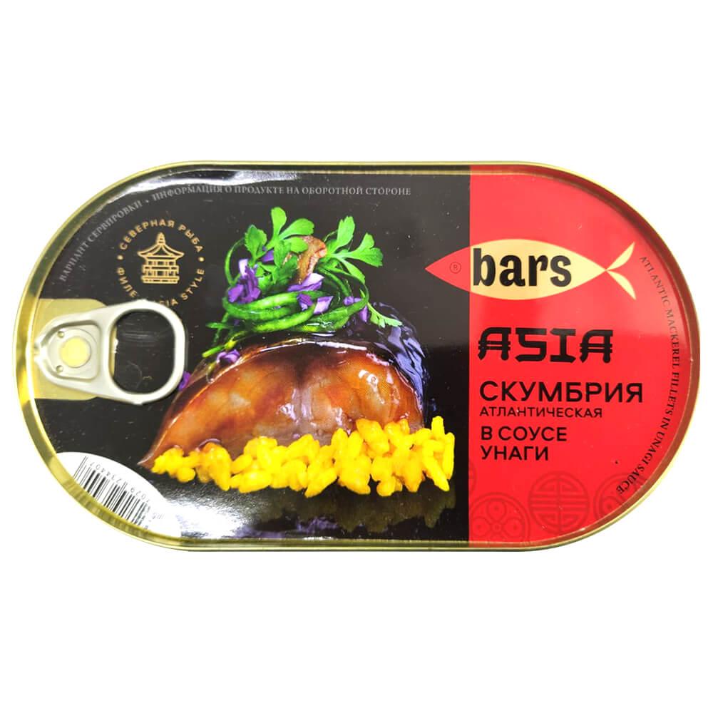 Скумбрия барс 175г в соусе унаги ханса ж/б ключ недорого