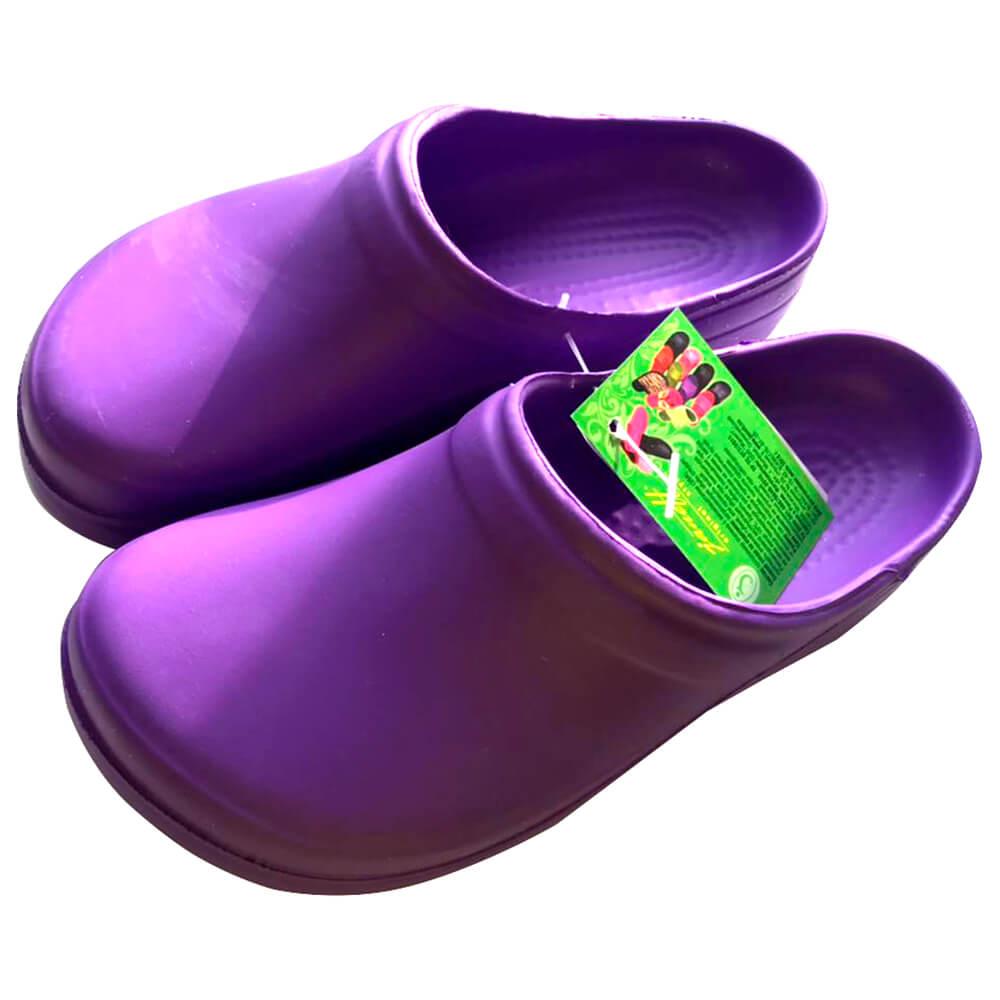 Галоши сабо р.36 фиолетовые