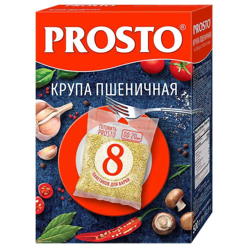 Крупа пшеничная Prosto 8пак*62,5г