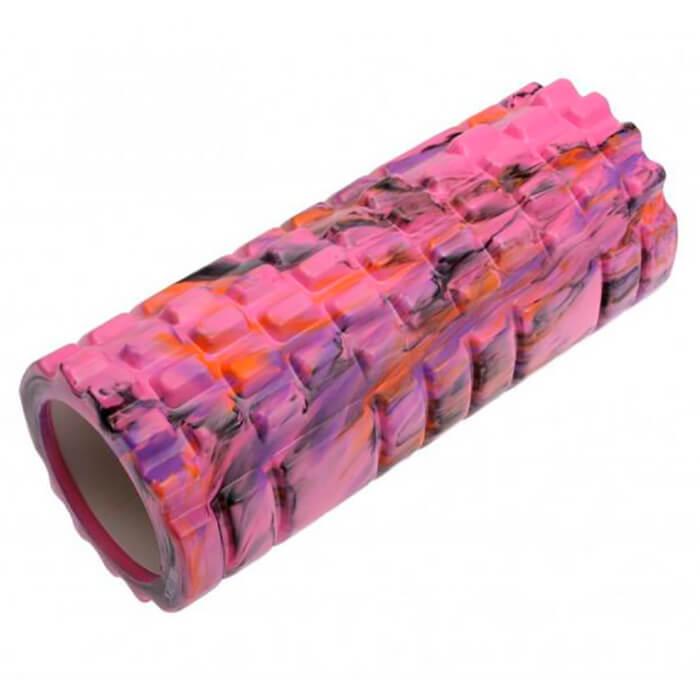 Валик для фитнеса Bradex туба камуфляж розовый
