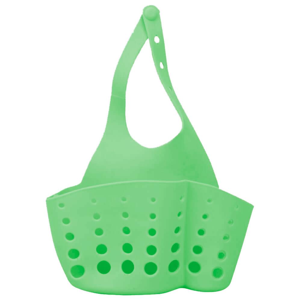 Корзинка для губки/мыла/мочалки зеленая