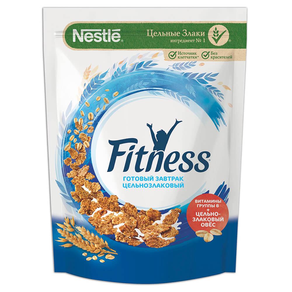 Готовый завтрак фитнес 230 г пакет нестле nestle gold snow flakes готовый завтрак 300 г