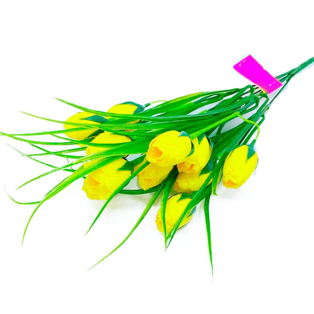 Букет искусственных цветов крокусы 45см р101