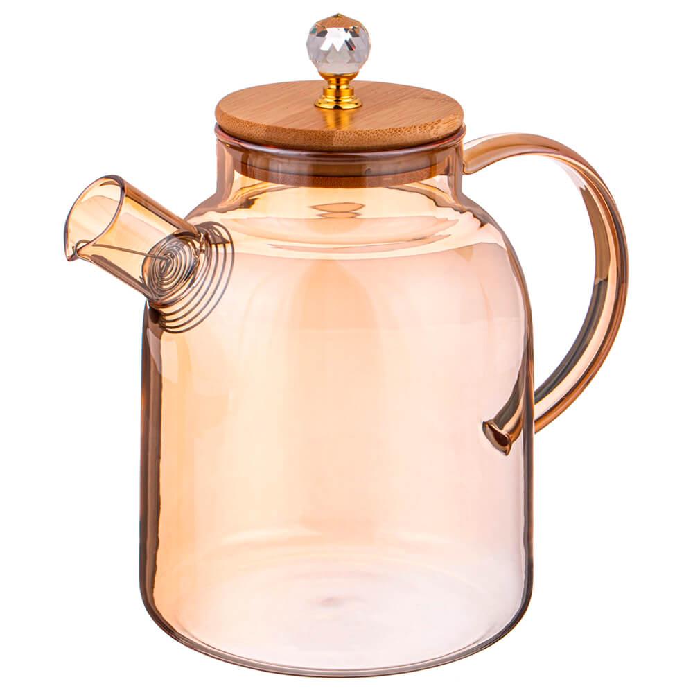 Чайник заварочный 1700мл Agness амбер 889-116
