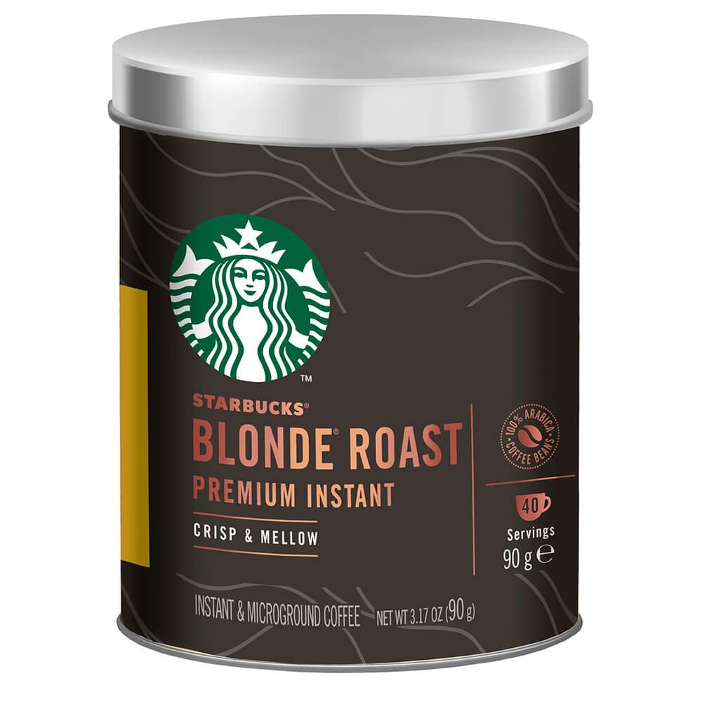 Кофе Starbucks 90г блонд растворимый