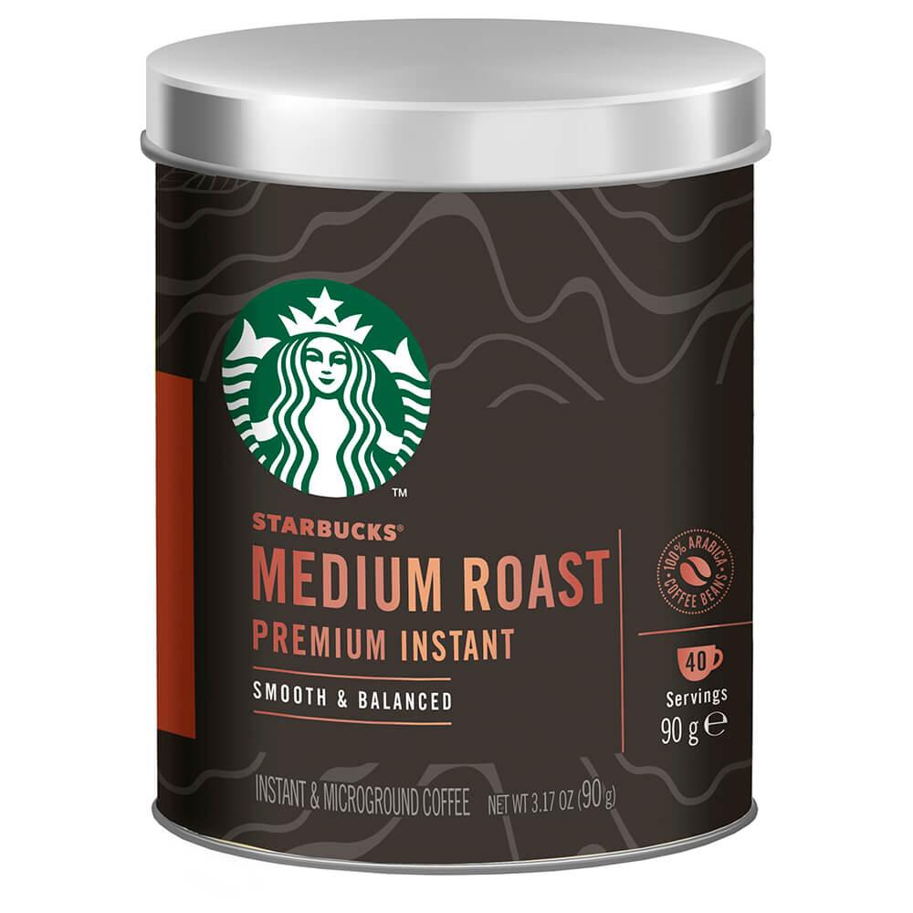 Кофе Starbucks 90г медиум растворимый