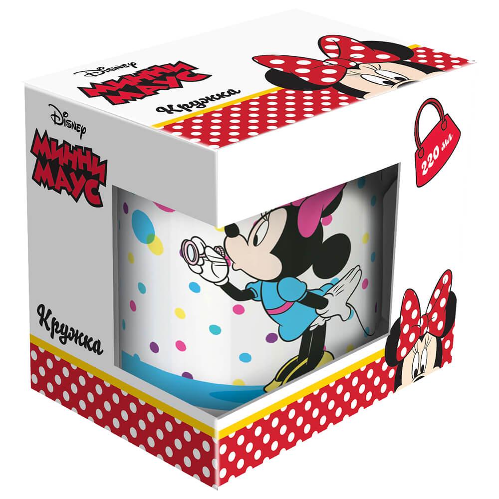 Фото - Кружка 220мл Disney минни маус мыльные пузыри фарфор п/у disney игрушка минни