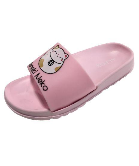Обувь пляжная детская н6472 р 32 розовые