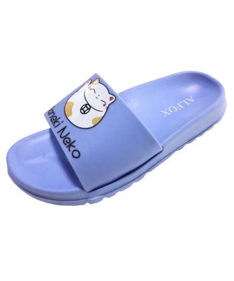 Обувь пляжная детская н6472 р 34 голубые