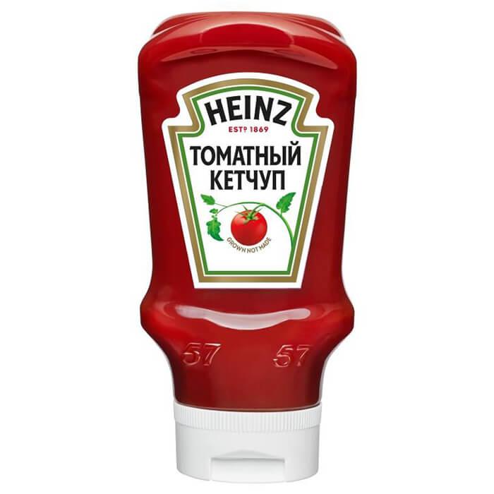 Фото - Кетчуп Heinz 460г томатный пл/бут перевертыш кетчуп томатный heinz чеснок и пряности