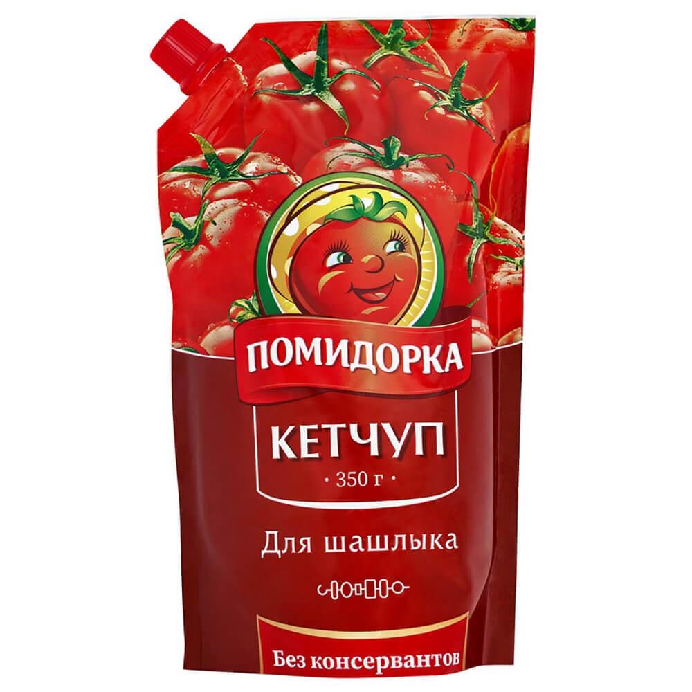Кетчуп помидорка 350 г шашлычный дой-пак недорого