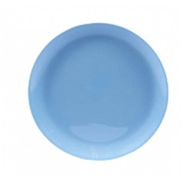 Тарелка обеденная 25 см люминарк лили лайт блю q6881