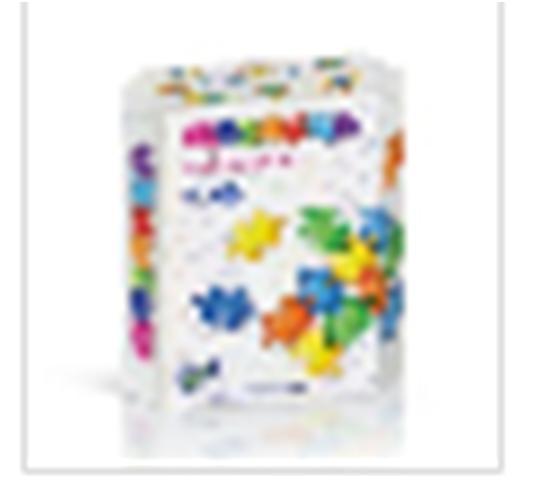Игрушка развивающая нордпласт напольная мозаика 48 фишек в коробке 798