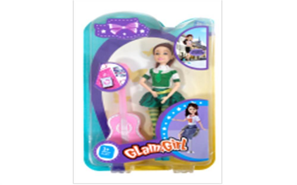 Кукла Там-Там 23см с гитарой bd013-3