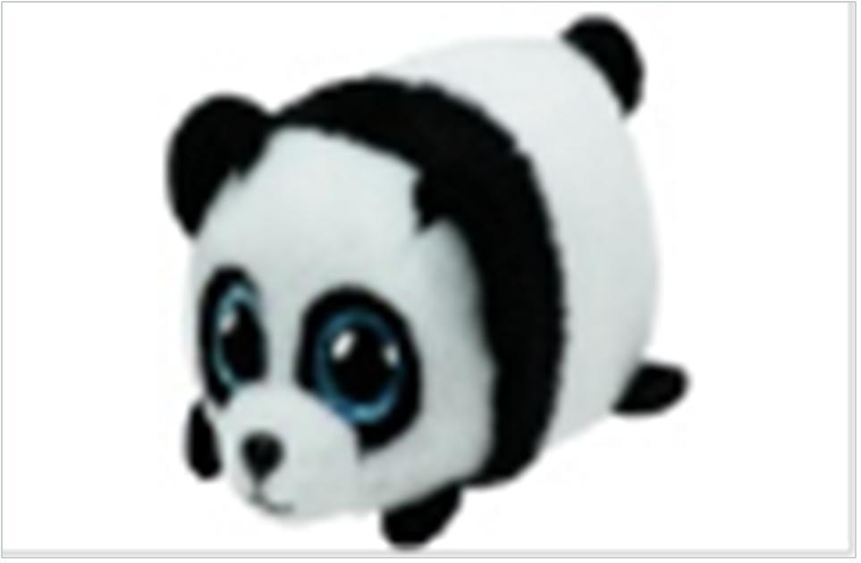 Игрушка мягкая тини тис панда пак 10см 42211