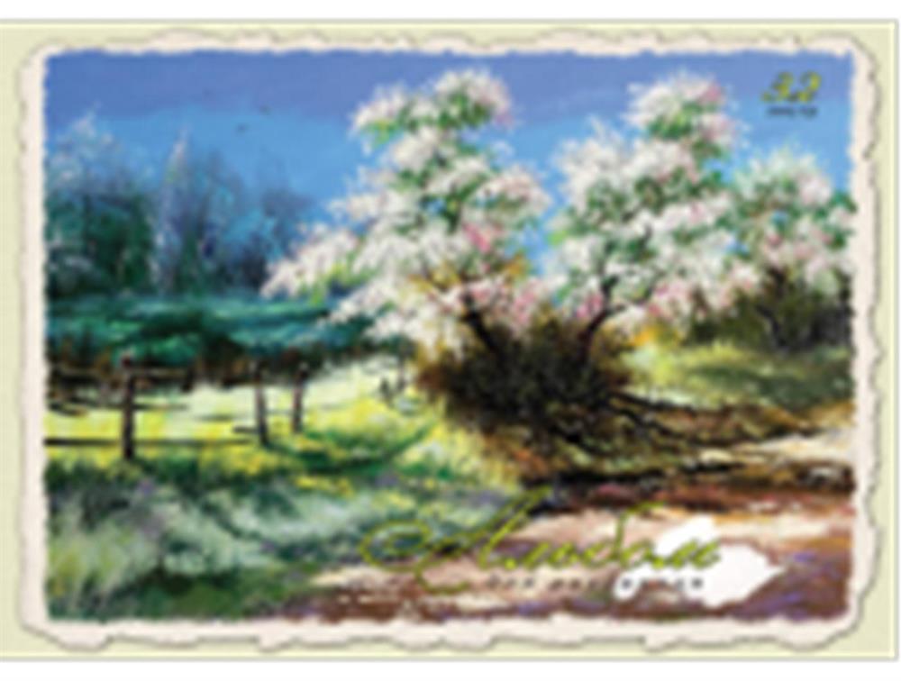 Альбом для рисования профит 32л а4 нарисованная природа 32-3838