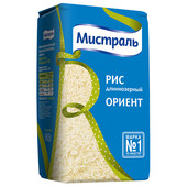 Крупа рис Мистраль 900г ориент белый длиннозерный