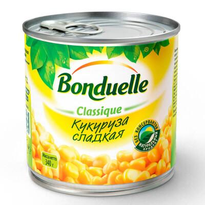 Кукуруза Bonduelle 340г сладкая