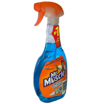 Средство для стекол Mr.Muscle 500мл со спиртом курок