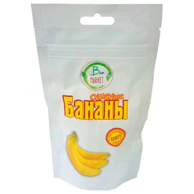 Бананы 100г сушеные Bio Market