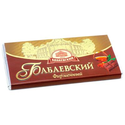 Шоколад Бабаевский 100г фирменный темный