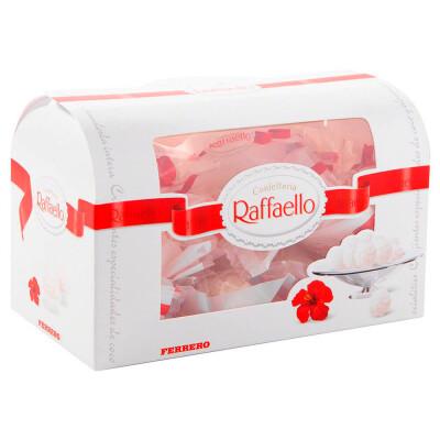 Конфеты Raffaello 240г т-24 сундучок Ferrero