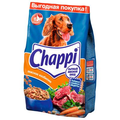 Корм для собак Chappi 2,5кг мясное изобилие