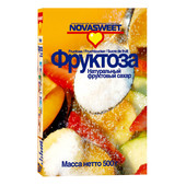 Фруктоза Novosvit натуральный фруктовый сахар 500г