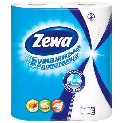 Бумажные полотенца Zewa, 2 рулона