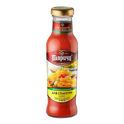 Соус для спагетт Папричи 320г Итальянская кухня