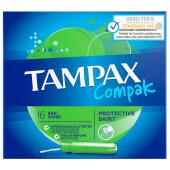 Тампоны Tampax 16шт компакт супер с  аппликатором