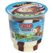 Паста Бурешка 350г шоколадно-молочная, пластиковый стакан