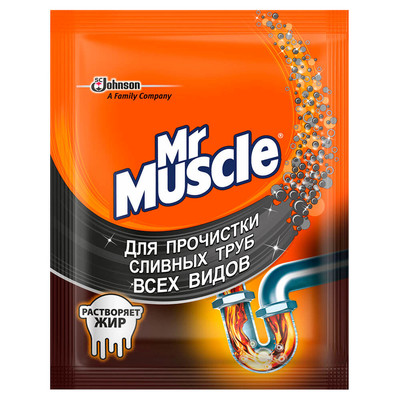 Средство для прочистки труб 70г Mr.Muscle