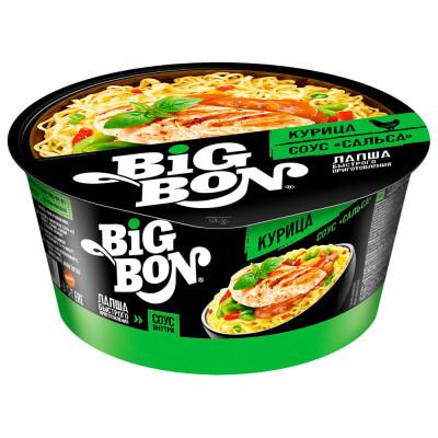 Лапша Big Bon 85г курица тарелка