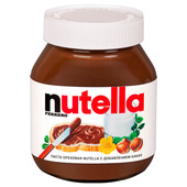 Паста Nutella 180г ореховая с добавлением какао Ferrero