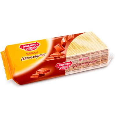 Вафли шоколадные Яшкинские 300г