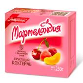 Мармелад Мармеландия 250г фруктовый коктейль Ударница