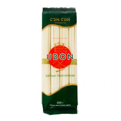 Лапша Sen Soy 300г удон пшеничная плоская