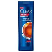 Шампунь Clear men 400мл против выпадения волос