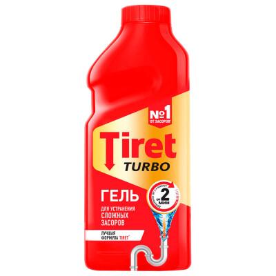 Средство для прочистки труб 500мл Tiret турбо