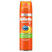 Гель для бритья Gillette 200мл фьюжен с алоэ и витамином е